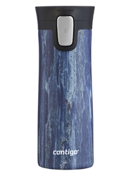 Kubek termiczny contigo pinnacle couture 420ml - blue slate - niebieski
