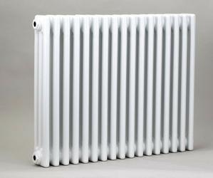 Grzejnik pokojowy retro - 3 kolumnowy, 700x800, białyral - biały