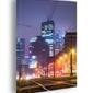 Warszawa city - obraz na płótnie wymiar do wyboru: 60x80 cm