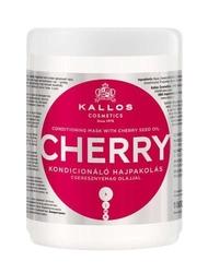 Kallos kjmn cherry maska do włosów z olejem z pestek czereśni 1000ml