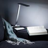 Lampa z ładowarką bezprzewodową qi