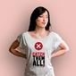 Errors – catch them all t-shirt damski biały xl