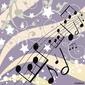 Tapeta ścienna tło muzyczne