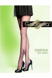 Gabriella 314 omena nero rajstopy