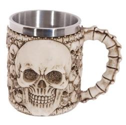 Kufel do piwa - duża czaszka