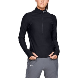 Bluza damska under armour qualifier half zip - czarny
