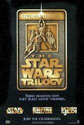 Star wars trylogia - specjalna edycja - plakat