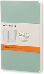 Zeszyty moleskine volant 2 szt. p w linie zielone