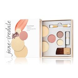 jane iredale pure  simple makeup kit zestaw próbny do makijażu mineralnego 8,4 g medium