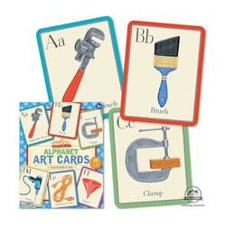 Art cards alfabet nauka angielskiego