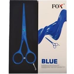 Fox profesjonalne kolorowe nożyczki fryzjerskie do strzyżenia włosów blue