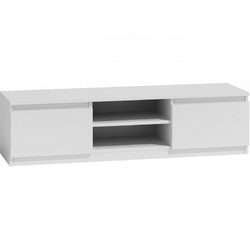 Stolik RTV LCD 140cm biały