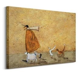 Ernest, doris, horace and stripes - obraz na płótnie