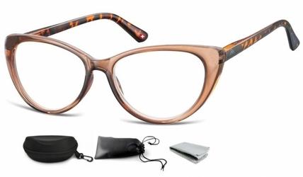 Plusy okulary do czytania i komputera kocie mr64e
