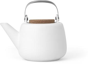 Dzbanek do zaparzania herbaty nicola biały