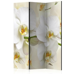 Parawan 3-częściowy - gałązka orchidei room dividers