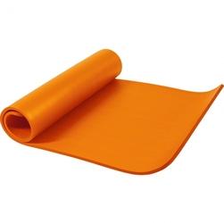 Mata do jogi duża 190x100x1,5 cm pomarańcz