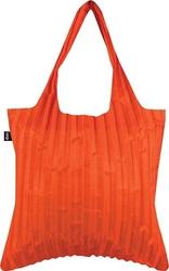Torba loqi plisowana pomarańczowa