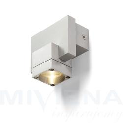 Casso up ścienna aluminium 230v350ma led 1w 3000k