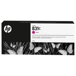 Hp 831c wkład atramentowy latex 775 ml, purpurowy