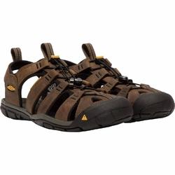 Sandały męskie keen clearwater cnx leather - brązowy