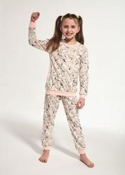 Piżama dziewczęca cornette young girl 033118 polar bear dłr 134-164