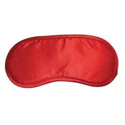 Sexshop - maska na oczy - sm - satin blindfold czerwona - online