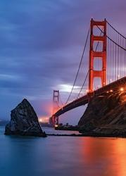 Most Golden Gate - plakat