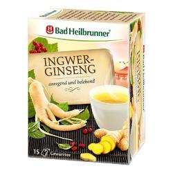 Bad heilbrunner herbata imbirowa z żeń-szeniem