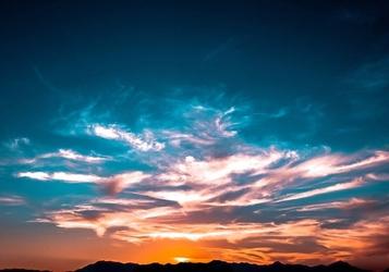 Fototapeta magiczne kolory nieba fp 1527