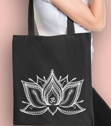 Lotos  torba na zakupy czarna universal