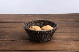 Koszyk na chleb i pieczywo okrągły altom design szary