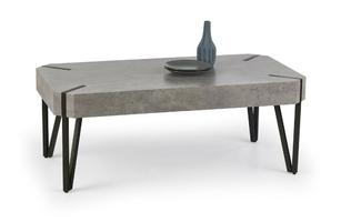 Ława emily beton-czarny