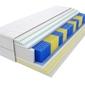 Materac kieszeniowy taba multipocket 160x195 cm miękki  średnio twardy 2x visco memory lateks
