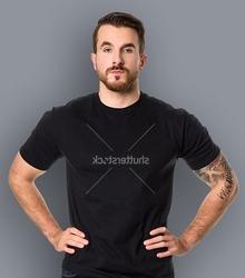 Shutterstock brief t-shirt męski czarny l