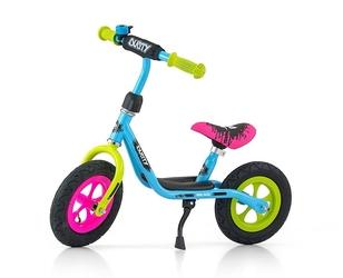 Milly mally dusty multikolor rowerek biegowyhulajnoga pompowane koła + prezent 3d