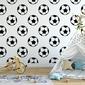 Tapeta dziecięca - football art , rodzaj - tapeta flizelinowa laminowana