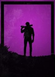 Dawn of heroes - booker dewit, bioshock - plakat