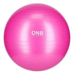 Piłka gimnastyczna gym ball 10 55 cm różowa - one fitness