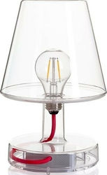 Lampa stołowa transloetje transparentna