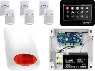 Zestaw alarmowy ropam neogsm-ip 6 x czujka bosch manipulator dotykowy tpr-4bs wifi gsm