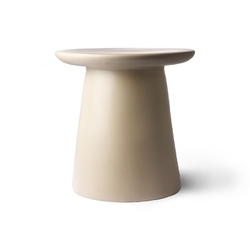 Hkliving stolik kawowy gliniany mta2823