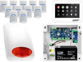 Zestaw alarmowy ropam neogsm-ip 11 x czujka bosch manipulator dotykowy tpr-4ws wifi gsm