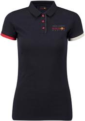 Koszulka polo damska red bull racing granatowa - granatowy