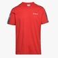 Koszulka męska diadora t-shirt ss 5palle offside - czerwony