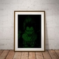 H4ck3d - ryuk, death note - plakat wymiar do wyboru: 42x59,4 cm