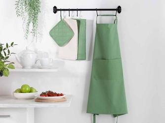Fartuch kuchenny 100 bawełna altom design kolekcja monokolor zielony