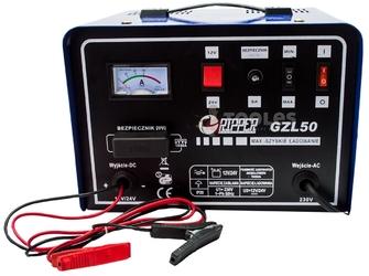 Prostownik z funkcją szybkiego ładowania gzl-50 50a 12v24v mar-pol