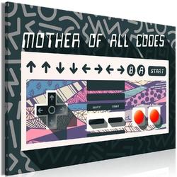Obraz - mother of all codes 1-częściowy szeroki