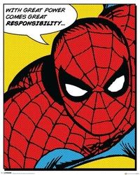 Spider-man quote - plakat
